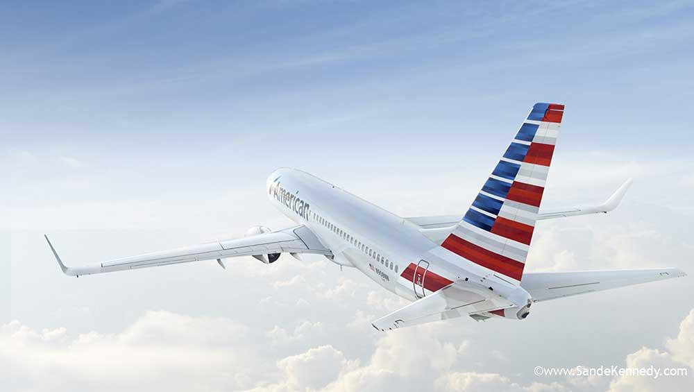 (American Airlines) American Airlines 737